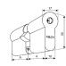 Двухсторонний механический цилиндр Abloy CY327